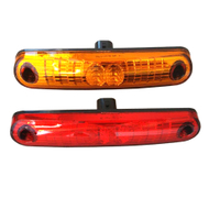 HC-B-5144 MARCOPOLO BUS FRONT MARKER LAMP 180*30 LED RED YELLOW WHITE GREEN BLUE