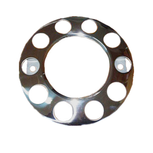 "HC-B-50034 BUS WHEEL COVER 22.5"" WHEEL STUD PROTECTOR DISC 10-HOLE PCD: DIA.335"