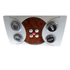 HC-B-12164 BUS WIND OUTLET SIZE:352*200 HOLE SIZE:332*184
