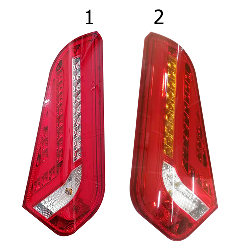HC-B-2538-1 Bus Rear Lamp Auto Red Tail Light With Fiber