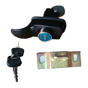 HC-B-10038 Bus Aluminum Door Lock System Door Cylinder Handle Lock Bus Accessories
