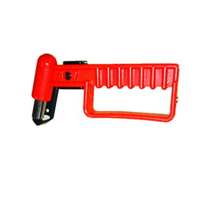 HC-B-8004 BUS EMERGENCY HAMMER 45 # STEEL OR ABS WITH BLACK BOTTOM